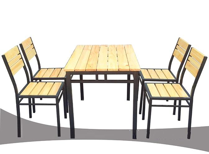 Bàn ghế cho quán cafe Cafesat02